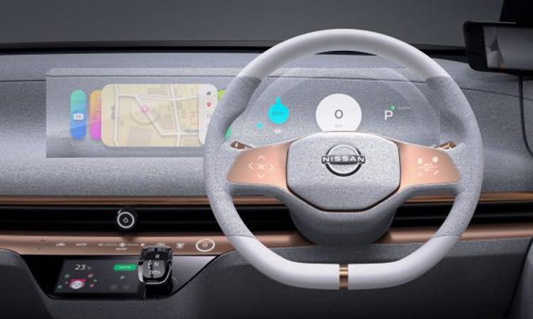 พวงมาลัย Nissan IMk Concept