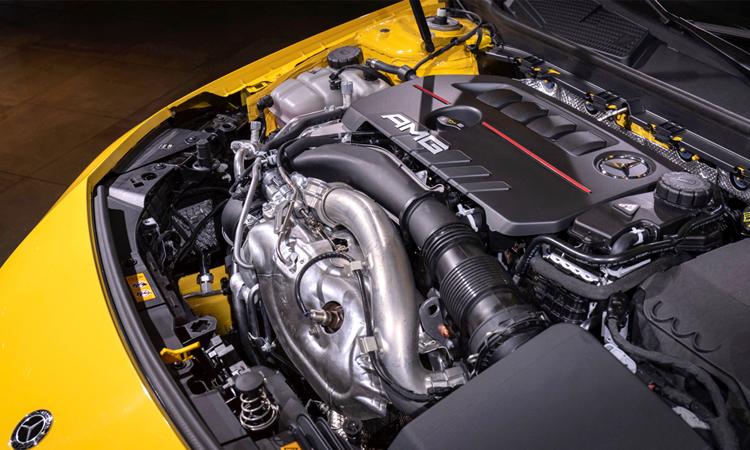 เครื่องยนต์ Mercedes-Benz CLA