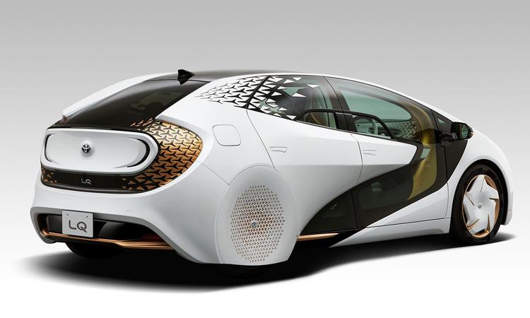 ดีไซน์ประตู Toyota LQ Concept
