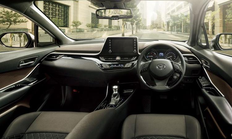 ดีไซน์ภายใน Toyota C-HR GR Sport