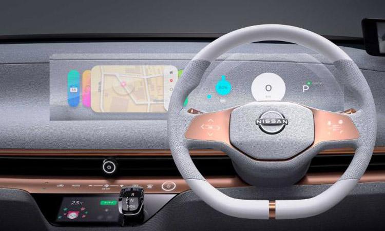 พวงมาลัย Nissan IMk EV 100%