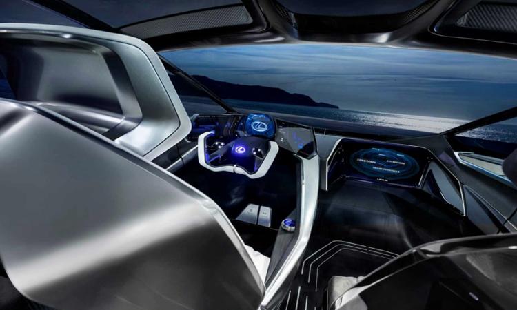 ดีไซน์ภายใน Lexus LF-30 EV
