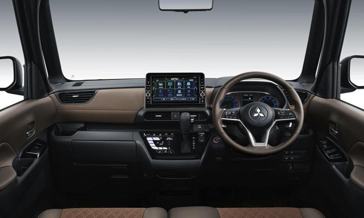 ดีไซน์ภายใน Mitsubishi K-WAGON