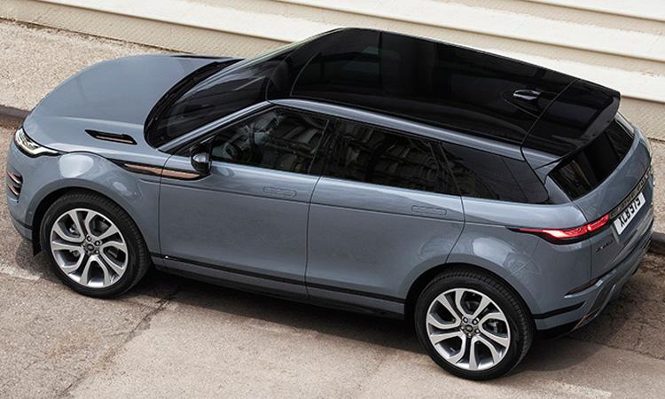 ดีไซน์หลังคา All NEW Range Rover EVOQUE