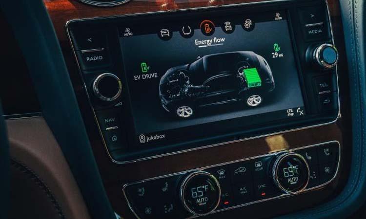 แสดงผลต่างๆ Bentley Bentayga Hybrid