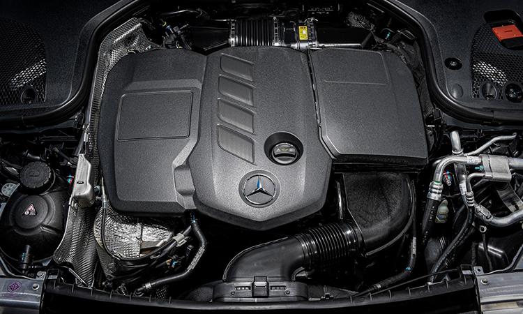 เครื่องยนต์ Mercedes-Benz GLC 220d (Facelift)