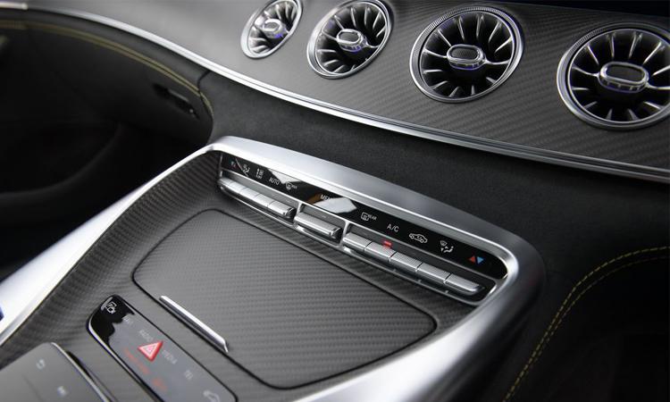 แผงควบคุม Mercedes-AMG GT 63 S 4MATIC+ 4-Door Coupé
