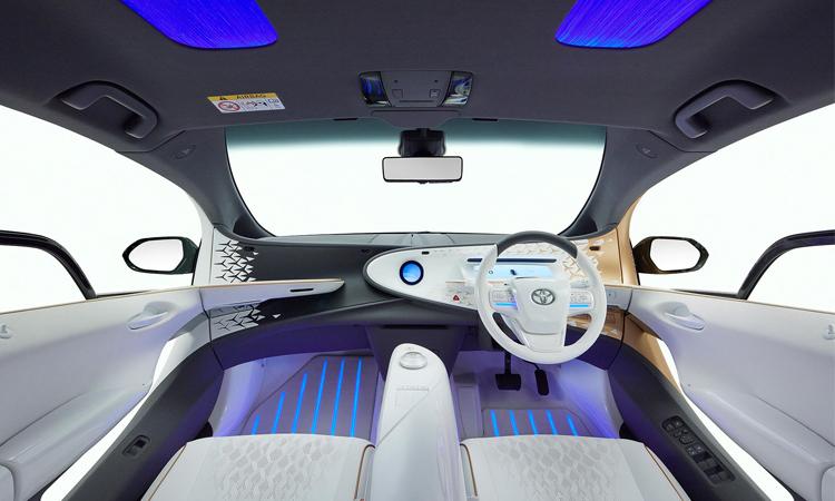 ดีไซน์ภายใน Toyota LQ Concept