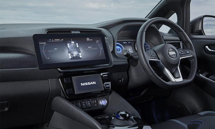 ภายใน Nissan Leaf e+