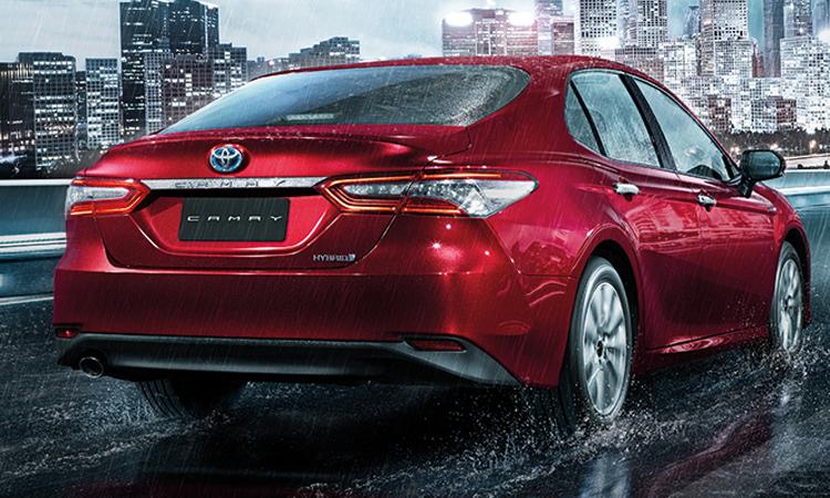 ดีไซน์ด้านหลัง All NEW Toyota Camry (TNGA Platform)