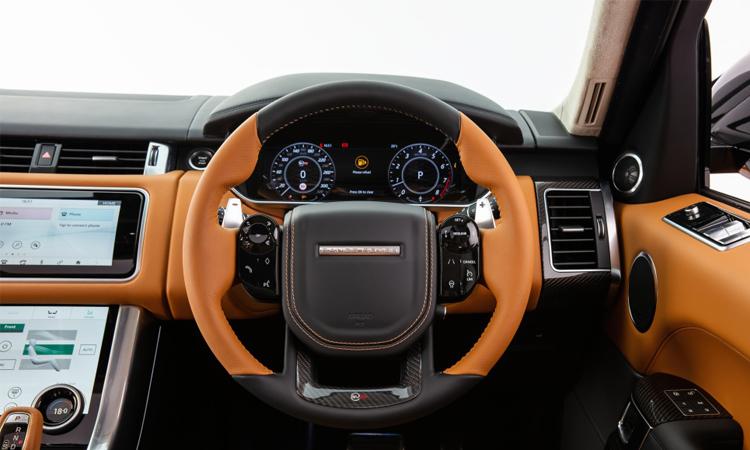 พวงมาลัย Range Rover Sport SVR