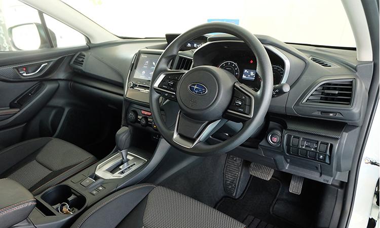 ดีไซน์ภายใน All NEW Subaru XV
