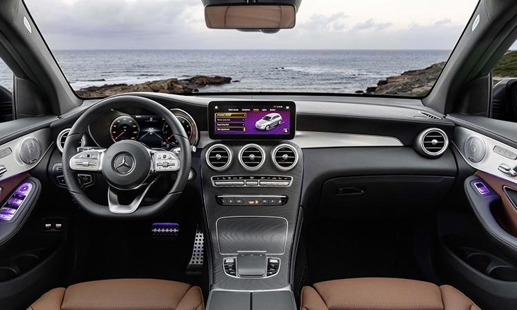 ภายใน Mercedes-Benz GLC 220d (Facelift)