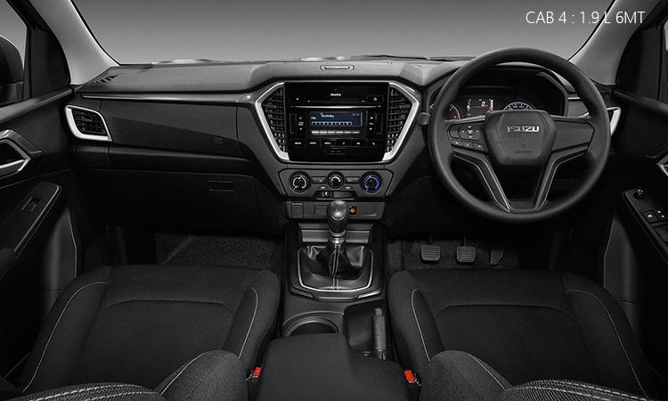 ภายใน Isuzu D-Max 2020 Cab4 1.9 Ddi L