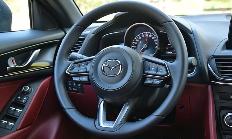ดีไซน์พวงมาลัย Mazda CX-4 Minorchange