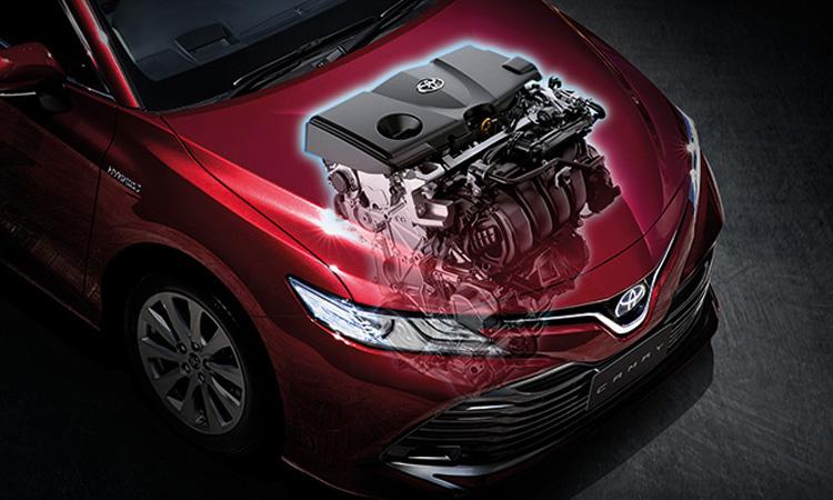 ตำแหน่งเครื่องยนต์ Toyota Camry