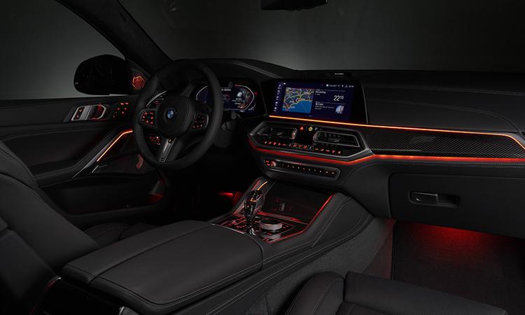 การเดินไฟ All-new BMW X6 2020
