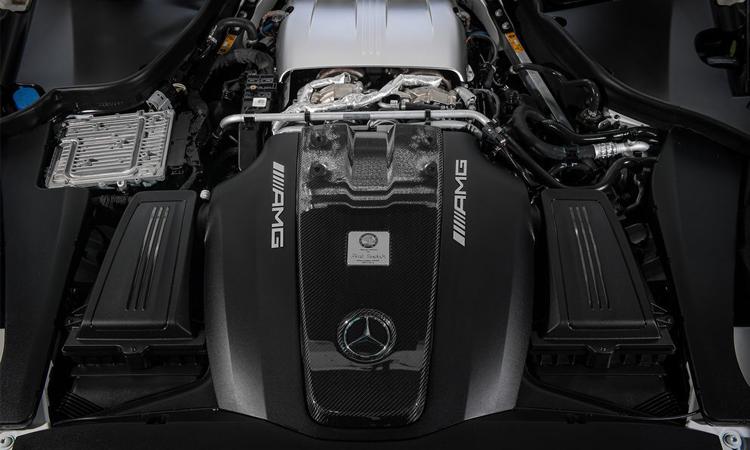 เครื่องยนต์ Mercedes-AMG GT C Roadster