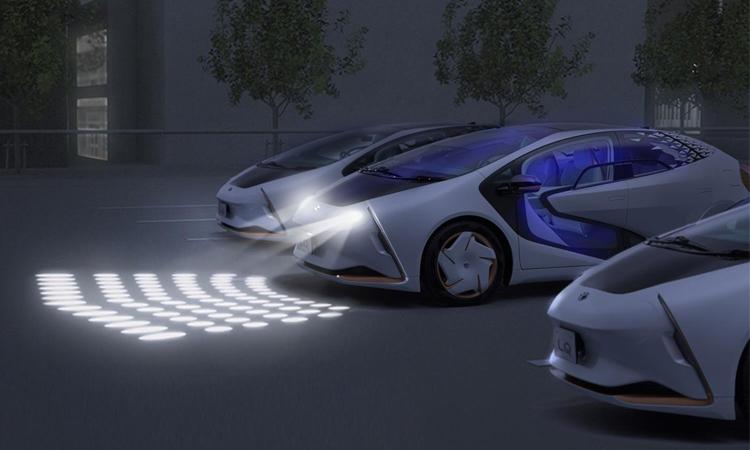 ดีไซน์ไฟหน้า Toyota LQ Concept