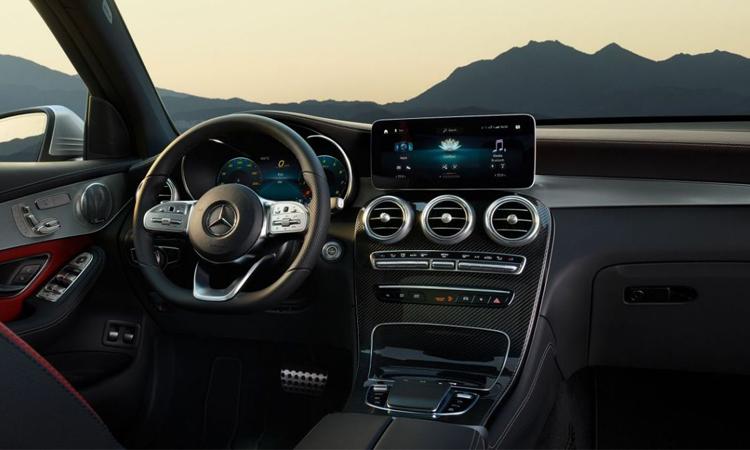 ดีไซน์ภายใน Mercedes-Benz GLC Coupé