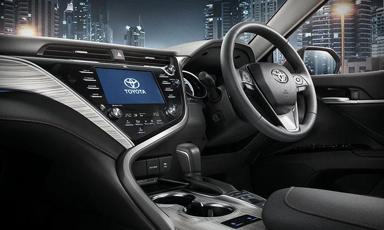ภายใน Toyota Camry