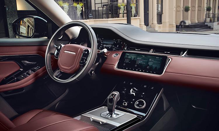 ดีไซน์ภายใน All NEW Range Rover EVOQUE
