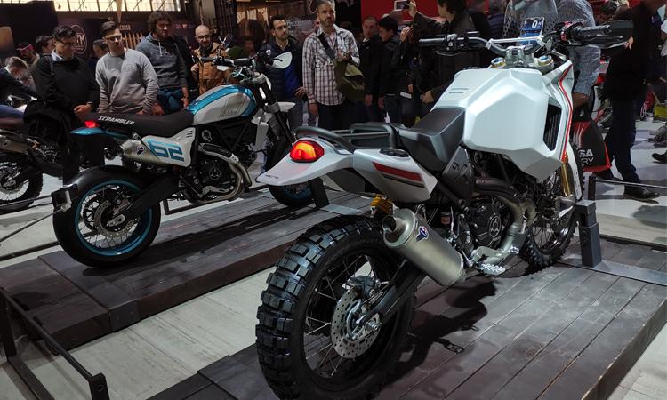 Ducati โชว์ตัวสองโมเดล Desert X และ Motard ณ งาน EICMA Show 2019 1