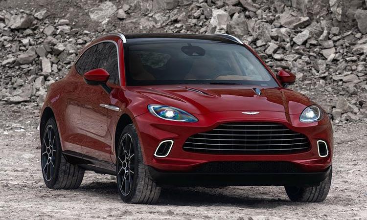 Aston Martin DBX 2021 เผยโฉมที่ Los Angeles Auto Show 2019