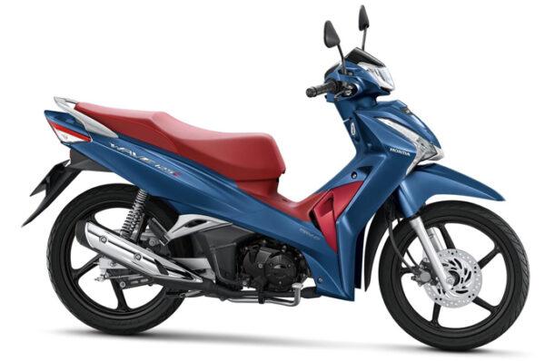 New Honda Wave 125i พร้อมสีใหม่ Blue Metallic