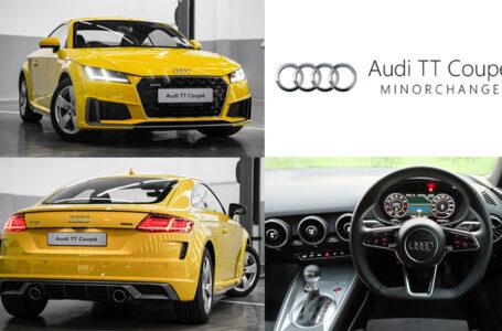 โปรโมชั่นพิเศษ Audi TT Coupe' 45 TFSI quattro S-Line กับดอกเบี้ย 0%