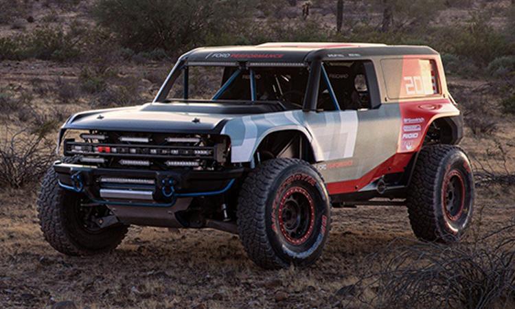 Ford Bronco R รถแข่งในร่าง SUV สายพันธุ์แกร่งรุ่นใหม่