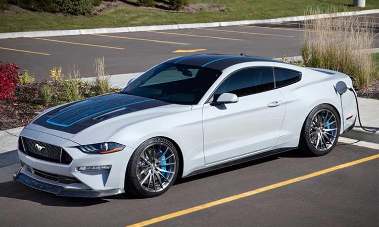 FORD Mustang Lithium มัสเซิลคาร์พลังงานไฟฟ้า 900 แรงม้า