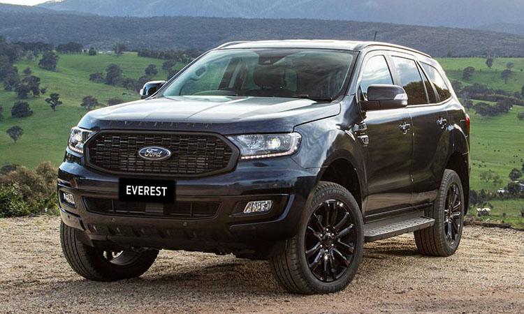 Ford Everest Sport ในตลาดออสเตรเลีย