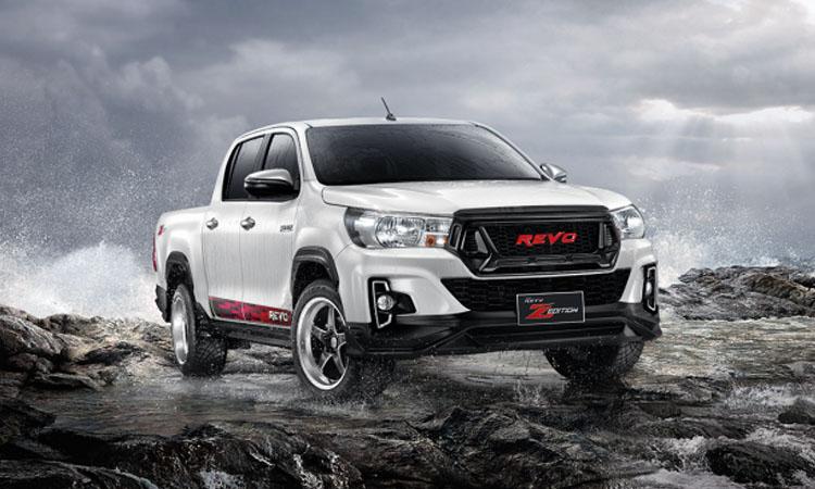 Toyota Hilux Revo เพิ่มความแรงด้วยชุดแต่งพันธุ์ดุ