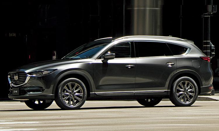 ดีไซน์ายนอก All NEW Mazda CX-8