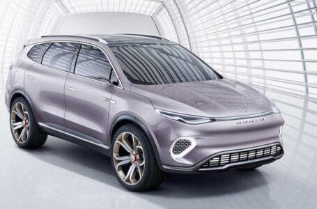 Denza X Concept ที่ถูกพัฒนาและออกแบบโดย Mercedes-Benz ในประเทศจีน