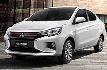 ราคา ตารางผ่อนดาวน์ Mitsubishi Attrage Dynamic Shield ปี 2020-2021