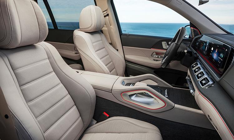เบาะคู่หน้า Mercedes-Benz GLS 350d 4MATIC SUV