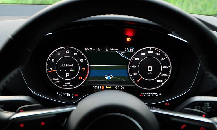 เรือนไมล์ Audi TT Coupe' 45 TFSI quattro S-Line