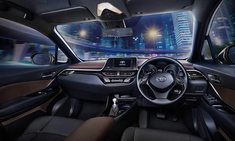 ภายใน Toyota C-HR NURBURGRING Edition