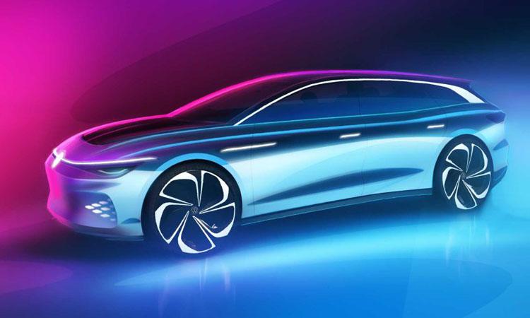 Volkswagen ID. Space Vizzion รถยนต์พลังงานไฟฟ้า