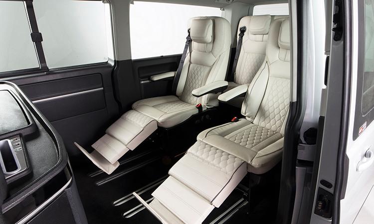 รูปแบบเบาะนั่ง Volkswagen Caravelle Thaiyarnyon T69
