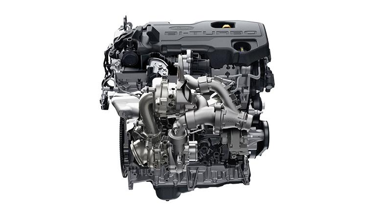 เครื่องยนต์ Ford Ranger 2.0 Bi-Turbo Wildtrak X 4WD 10AT