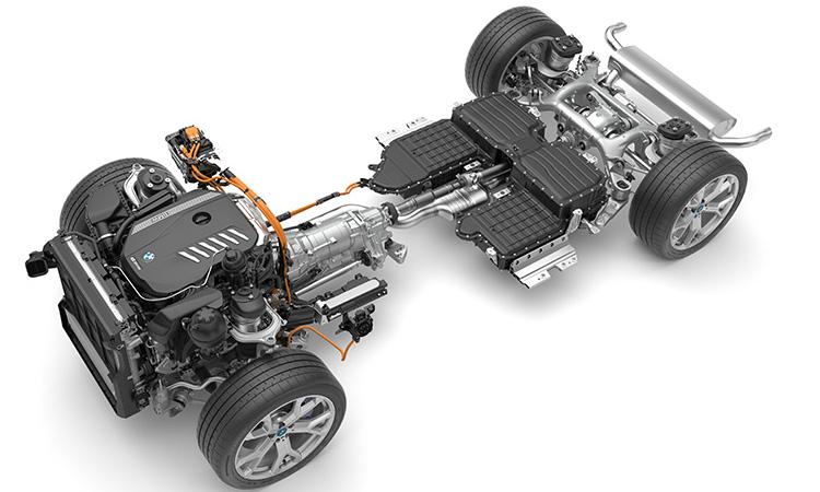 เครื่องยนต์ BMW X5 xDrive45e G05 Plug-in Hybrid