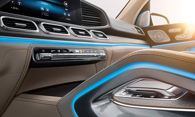 คอนโซล Mercedes-Benz GLS 350d 4MATIC SUV