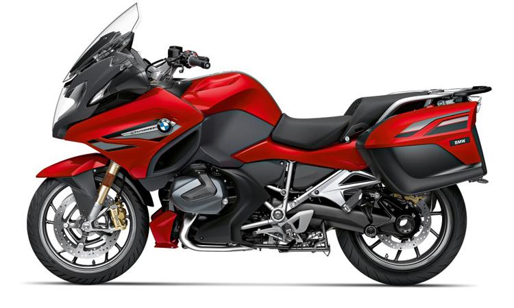 R 1250 RT ใหม่ สีแดง Mars red metallic/ Dark slate metallic matt ราคา: 1,375,000 บาท
