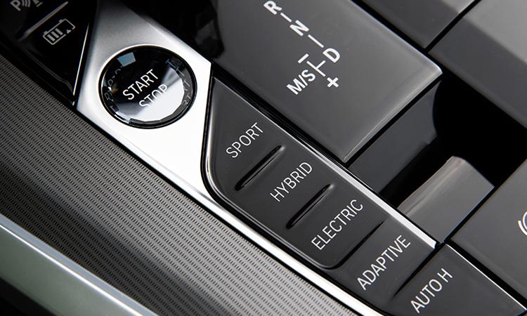 ปุ่มควบคุม BMW X5 xDrive45e (Plug-in Hybrid)
