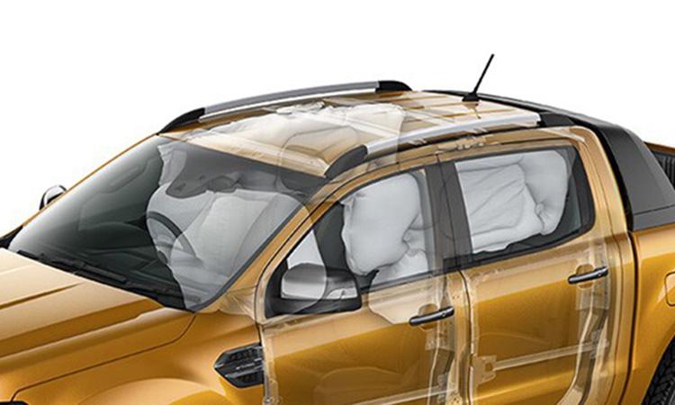 ระบบความปลอดภัย Ford Ranger 2.0 Bi-Turbo Wildtrak X 4WD 10AT