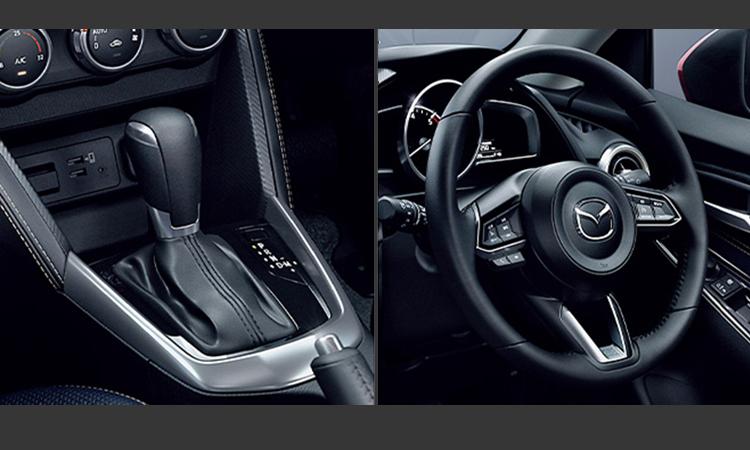 พวงมาลัย และเกียร์ Mazda 2 Minorchange