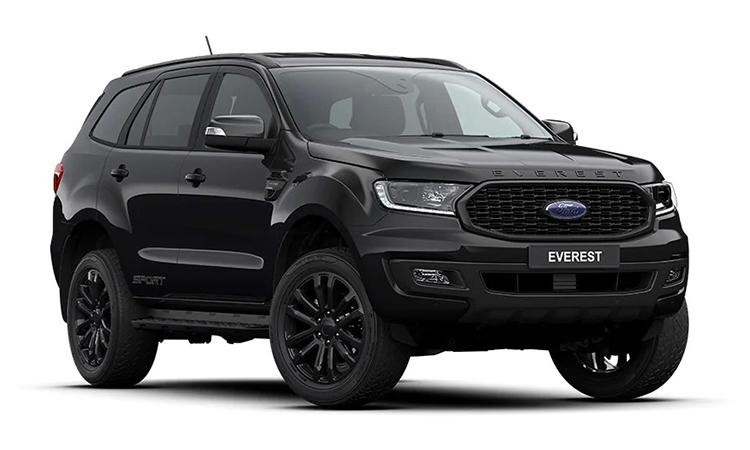 Ford EVEREST SPORT 2.0 TURBO 4×2 10ATสีดำ